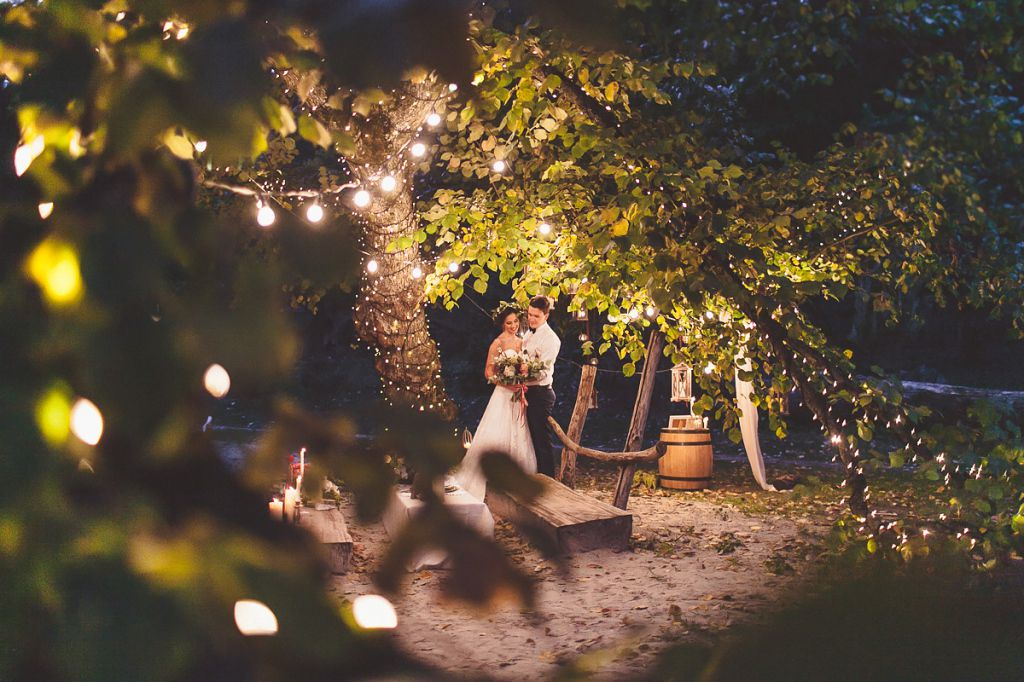 Кадры со свадебной фотосесии