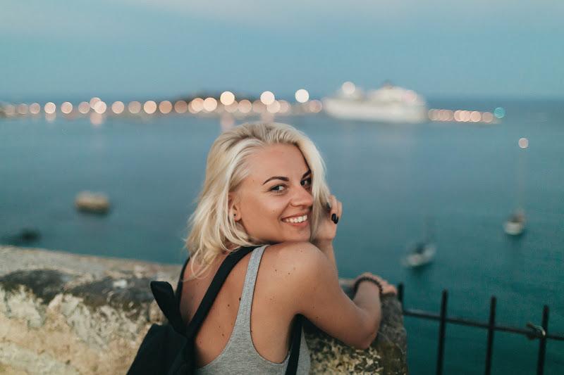 Кристина Пунаева в Ибица