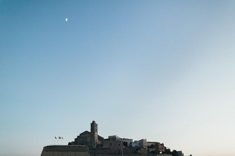 Старинаая крепость Ибица - путешествие