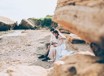Свадебные фотографии на пляже