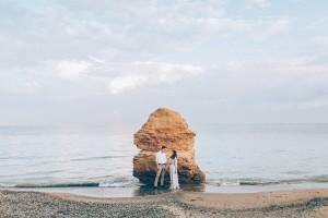 Свадбеная фотосессия на море