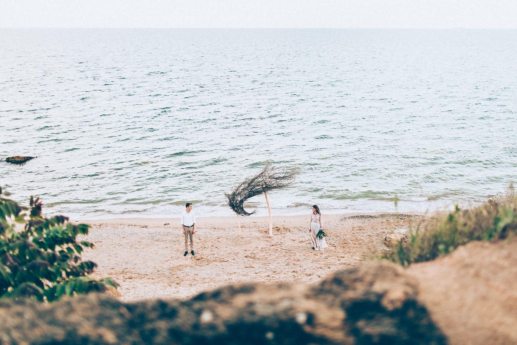 Море, пляж, свадьба, любовь