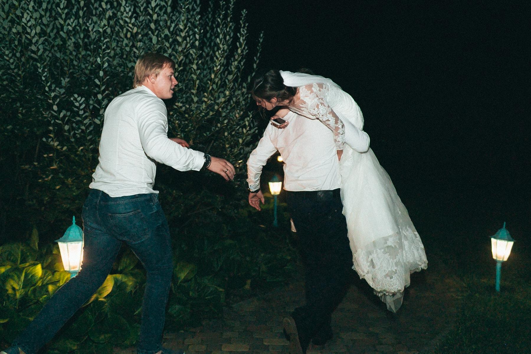 Фото: украли невесту, свадебные фото